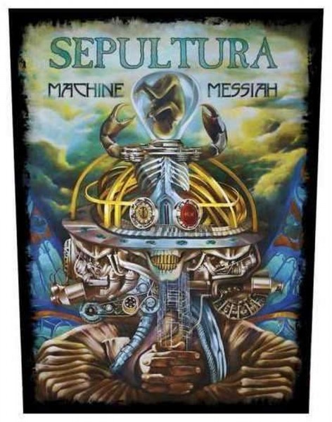 SEPULTURA - Machine Messiah Backpatch Rückenaufnäher