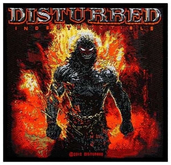 DISTURBED - Indestructable Patch Aufnäher