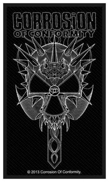 CORROSION OF CONFORMITY - 2012 Skull Patch Aufnäher