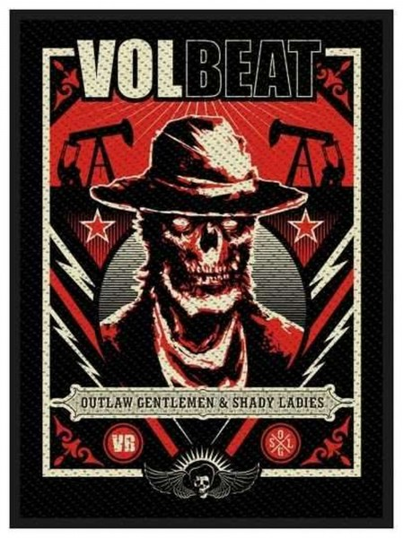 VOLBEAT - Ghoul Frame Patch Aufnäher