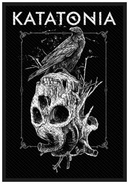 KATATONIA - Crow Skull Patch Aufnäher