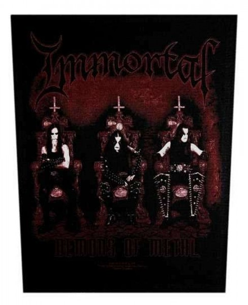 IMMORTAL - Demons Backpatch Rückenaufnäher