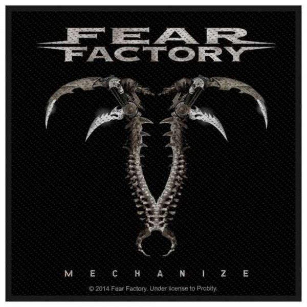 FEAR FACTORY - Mechanize Patch Aufnäher