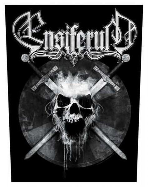 ENSIFERUM - Skull Backpatch Rückenaufnäher