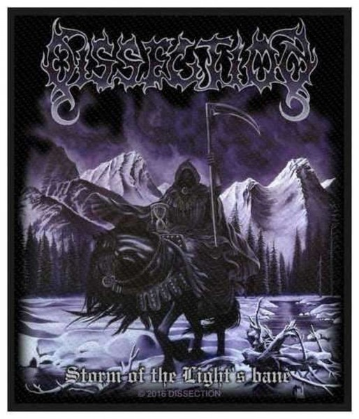 DISSECTION - Storm Of The Light´s Bane Patch Aufnäher