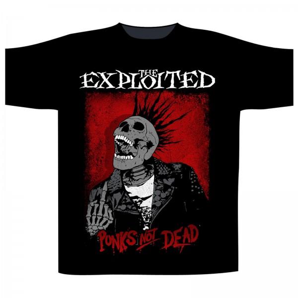 THE EXPLOITED - Splatter Punks not dead T-Shirt