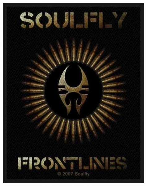 SOULFLY - Frontlines Patch Aufnäher
