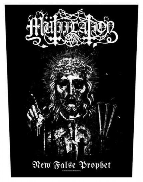 MÜTIILATION - New False Prophet Backpatch Rückenaufnäher