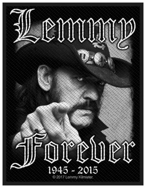 MOTÖRHEAD - Lemmy Forever Patch Aufnäher