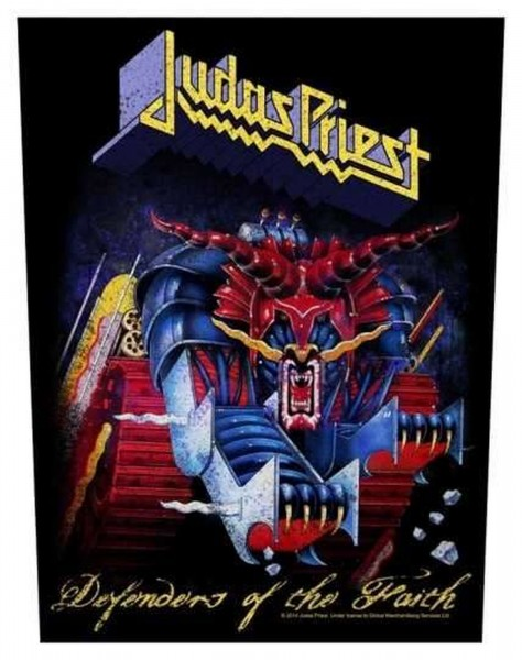 JUDAS PRIEST - Defenders Of The Faith Backpatch Rückenaufnäher
