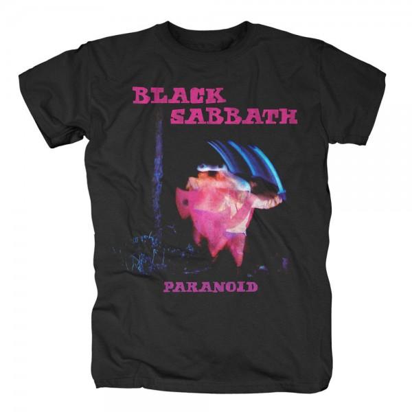BLACK SABBATH - Paranoid Tracklist T-Shirt