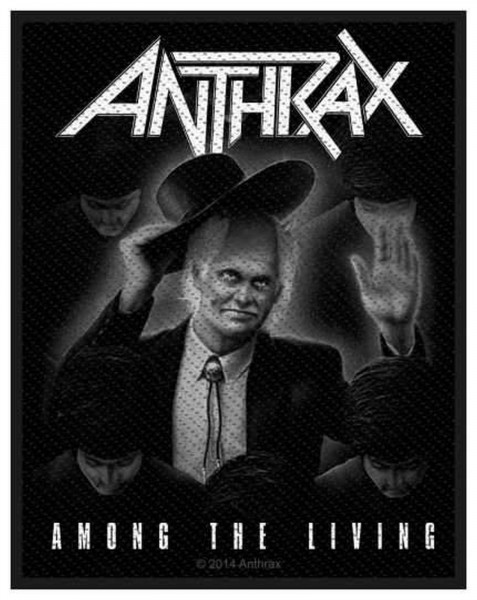 ANTHRAX - Among The Living Patch Aufnäher