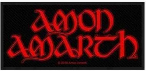 AMON AMARTH - red logo Patch Aufnäher