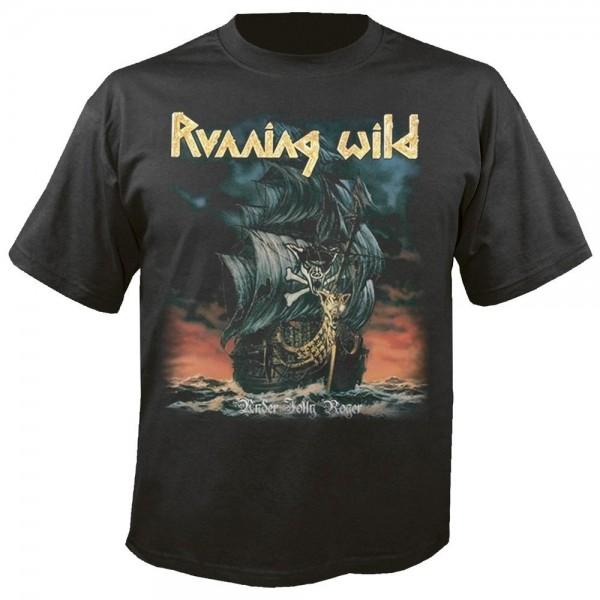RUNNING WILD - Under jolly roger T-Shirt