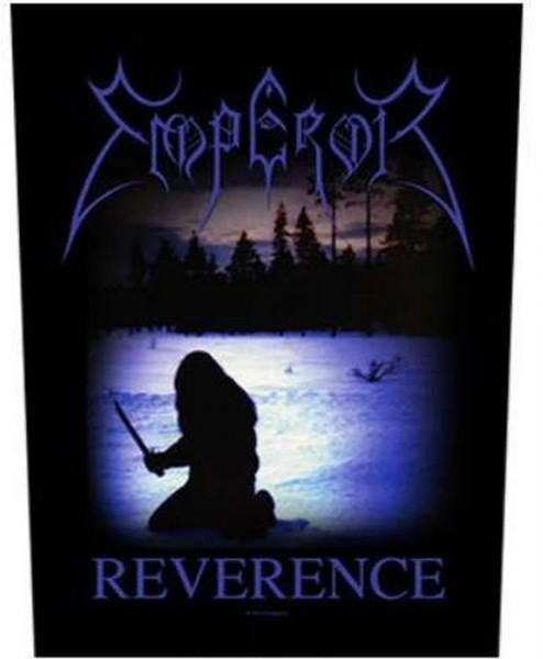 EMPEROR - Reverence Backpatch Rückenaufnäher