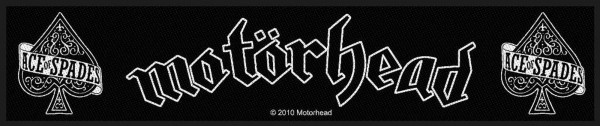 MOTÖRHEAD - Ace Of Spades Patch Aufnäher Superstrip