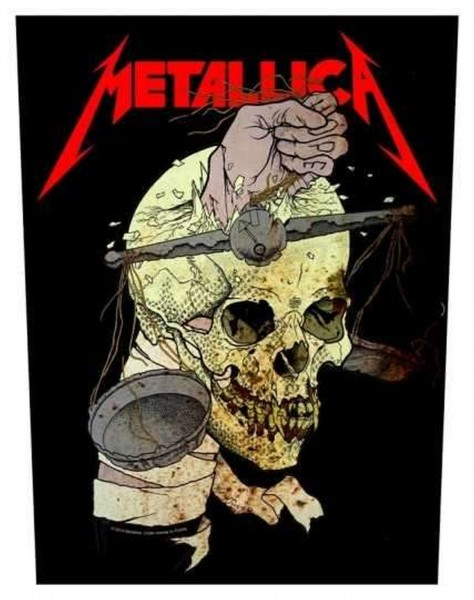 METALLICA - Harvester Of Sorrow Backpatch Rückenaufnäher