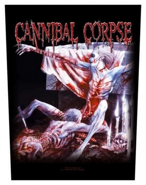 CANNIBAL CORPSE - Tomb Of The Mutilated Backpatch Rückenaufnäher