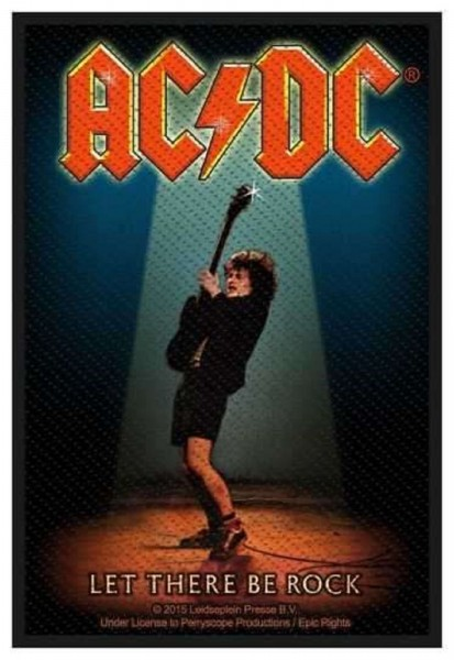 AC/DC - Let There Be Rock Patch Aufnäher