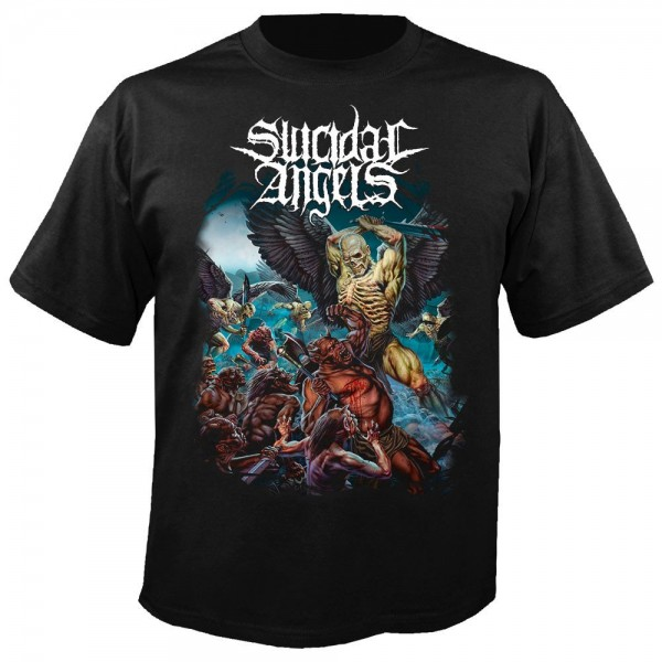 SUICIDAL ANGELS - Years Of Aggression T-Shirt