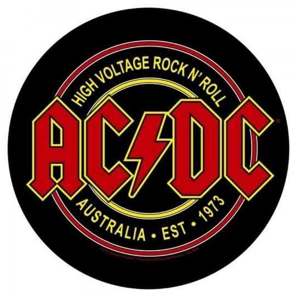 AC/DC - High Voltage Rock´n Roll Australia Backpatch Rückenaufnäher