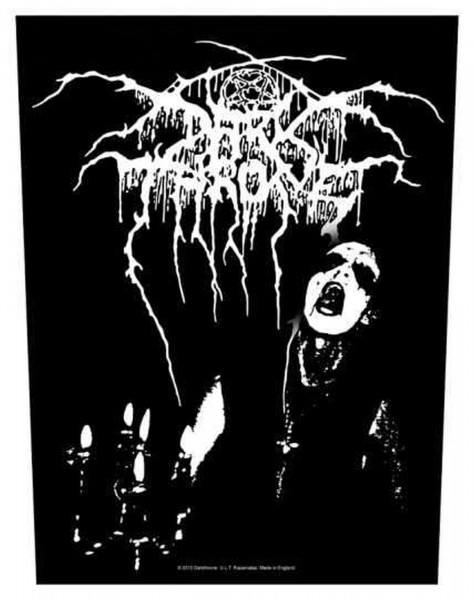 DARKTHRONE - Transilvanian Hunger Backpatch Rückenaufnäher