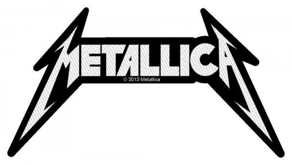 METALLICA - logo cut Patch Aufnäher