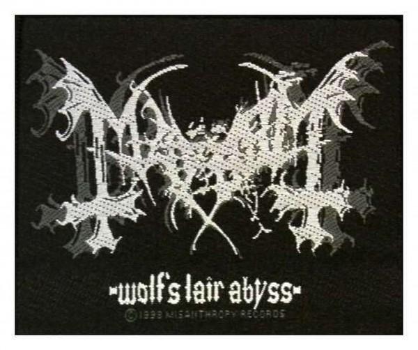 MAYHEM - Wolf´s Lair Abyss Patch Aufnäher