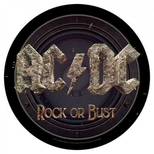 AC/DC - Rock Or Bust Backpatch Rückenaufnäher