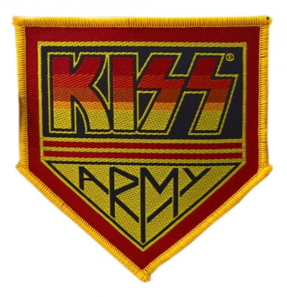 KISS - Army cutout Patch Aufnäher