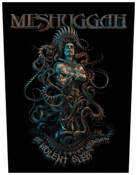 MESHUGGAH - Violent Sleep Of Reason Backpatch Rückenaufnäher