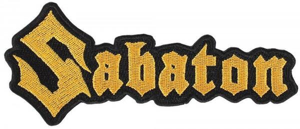 SABATON - Logo cutout Patch Aufnäher