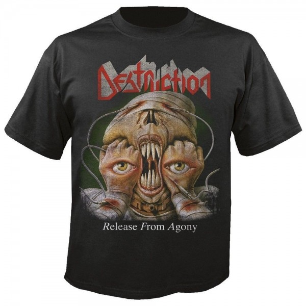 DESTRUCTION - Release from agony 30 years T-Shirt
