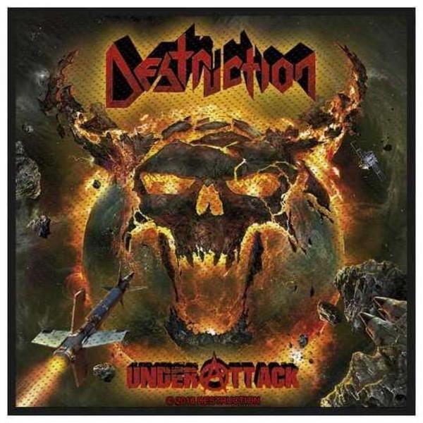 DESTRUCTION - Under Attack Patch Aufnäher