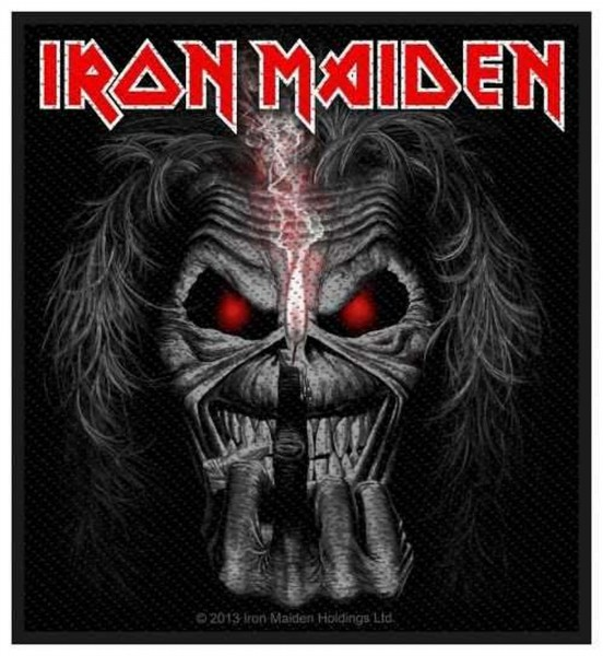 IRON MAIDEN - Candle Finger Patch Aufnäher