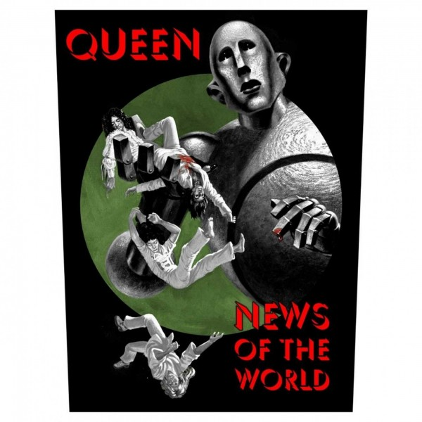 QUEEN - News Of This World Backpatch Rückenaufnäher