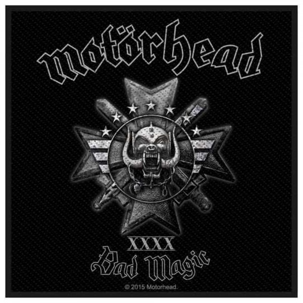 MOTÖRHEAD - Bad Magic Patch Aufnäher