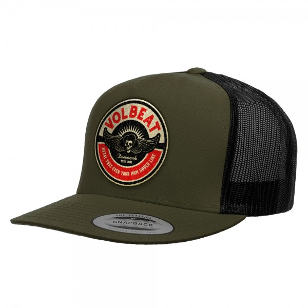 VOLBEAT - Circle Mom Olive/Black Baseballcap
