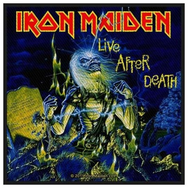 IRON MAIDEN - Live After Death Patch Aufnäher
