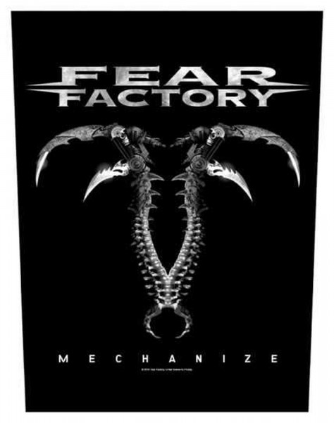 FEAR FACTORY - Mechanize Backpatch Rückenaufnäher