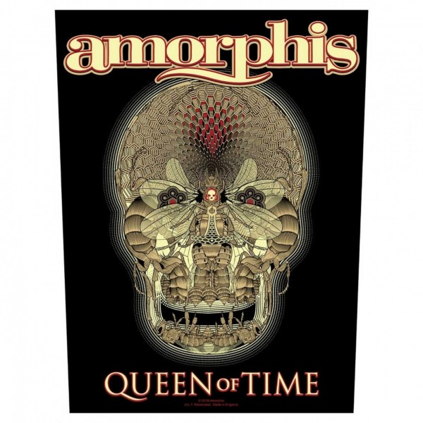 AMORPHIS - Queen Of Time Backpatch Rückenaufnäher