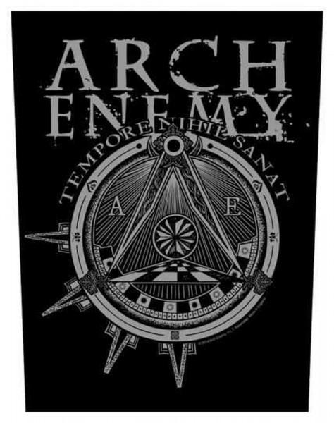 ARCH ENEMY - Outlaw Illuminati Backpatch Rückenaufnäher