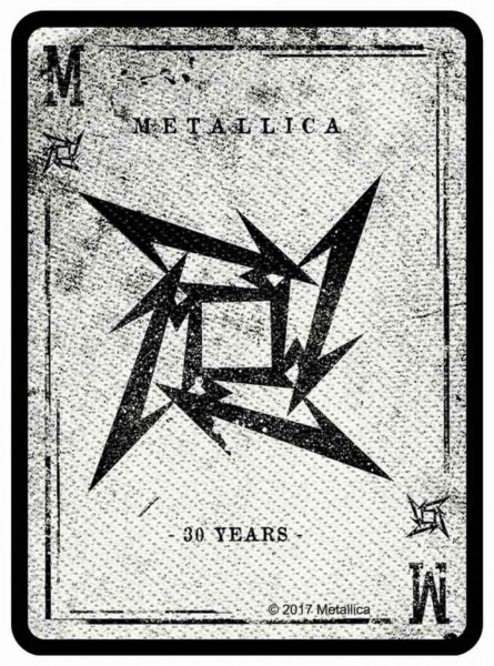 METALLICA - Tribal Card Patch Aufnäher