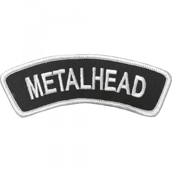 METALHEAD - Banner Patch Aufnäher