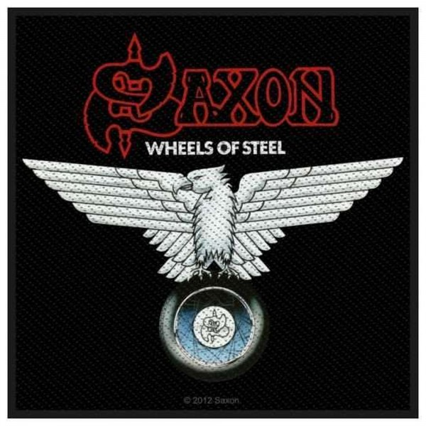 SAXON - Wheels Of Steel Patch Aufnäher