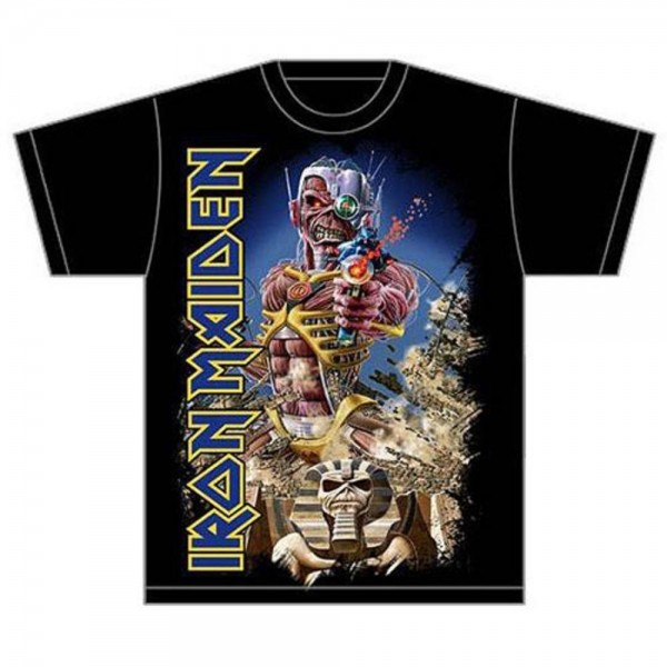 IRON MAIDEN - Somewhere back in time jumbo T-Shirt