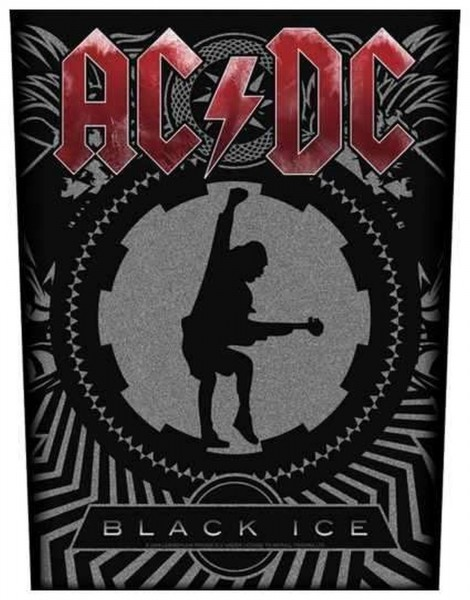AC/DC - Black Ice Backpatch Rückenaufnäher
