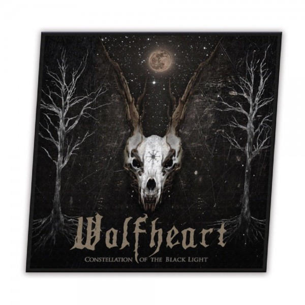 WOLFHEART - Constellation Of The Black Light Patch Aufnäher
