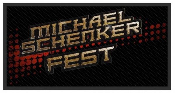 MICHAEL SCHENKER FEST - Logo Patch Aufnäher