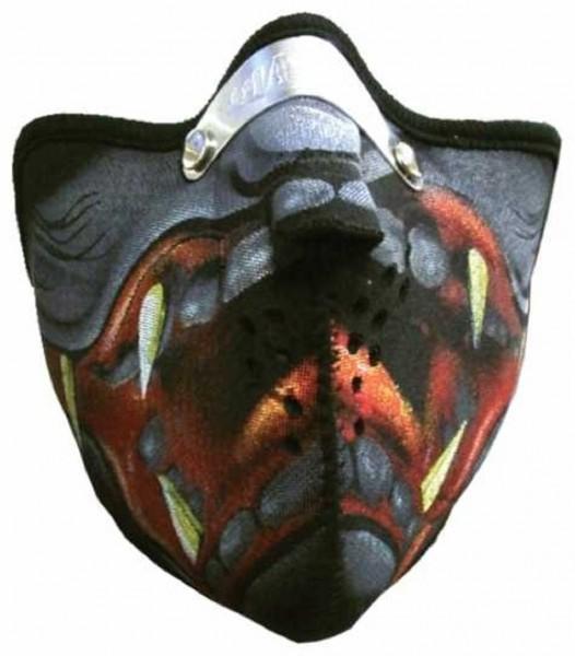 MASKE - Motorrad Gesichtsmaske Mundschutz Gesichtsschutz Werwolf
